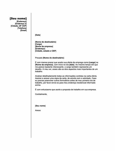 Aceitar oferta de emprego (tema Vertical)