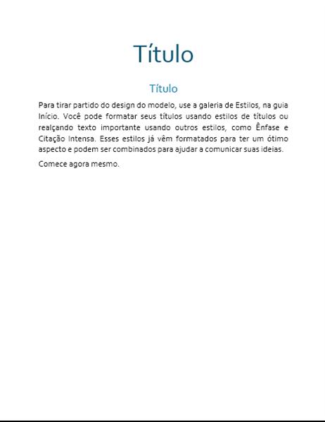 Design Fluxo