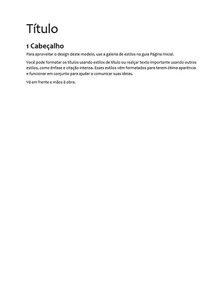 Design de especificações (em branco)