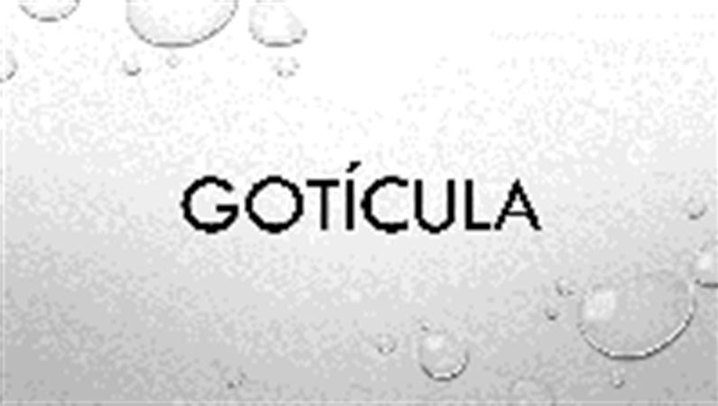 Gotícula
