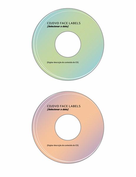 Rótulos de CD/DVD