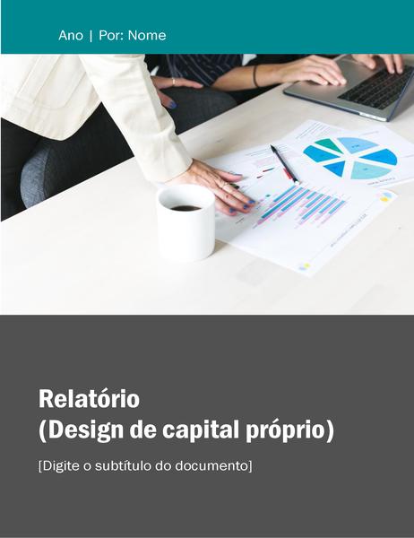 Relatório (design Patrimônio Líquido)