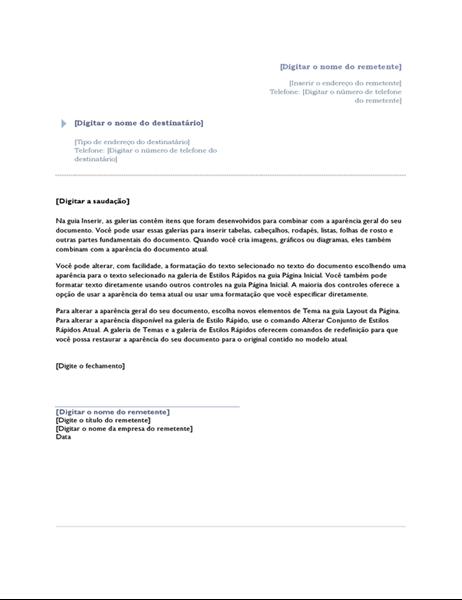 Carta (design Origem)