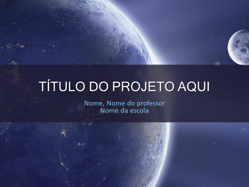 Projeto Escolar do Sistema Solar