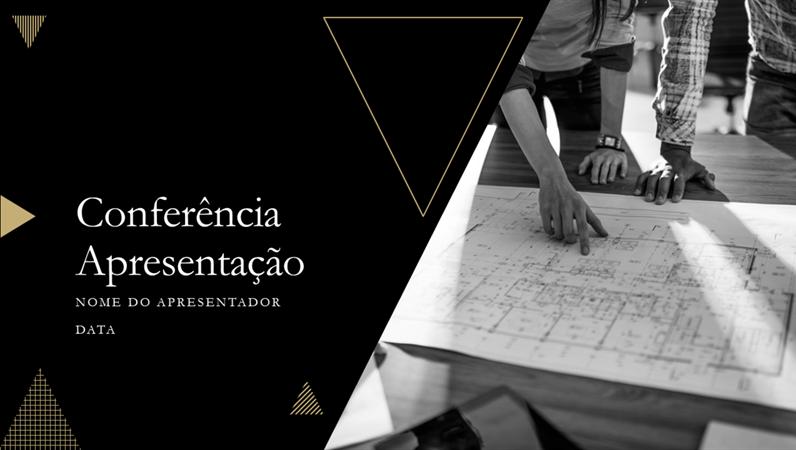 Apresentação de conferência geométrica