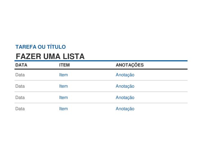 Fabuloso Listas - Office.com PP27