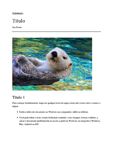 Artigo de pesquisa