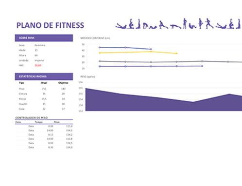 Plano de fitness