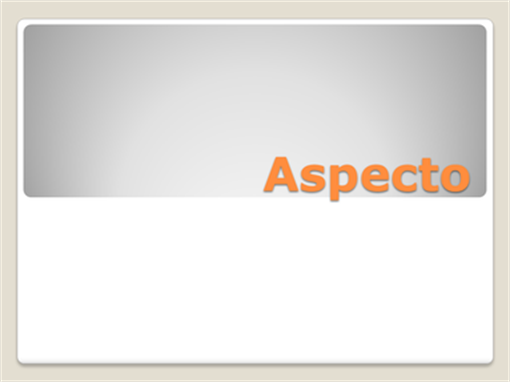 Aspecto