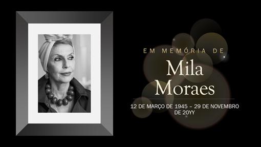 Comemoração: Memorial