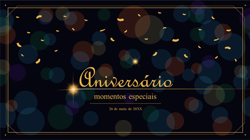 Comemoração de aniversário
