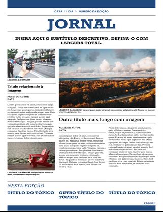 Jornal tradicional