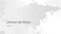 Série de mapas-múndi, apresentação do continente asiático (widescreen)
