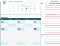 Calendário do aluno (segunda)