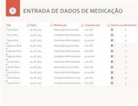 Agenda de medicação