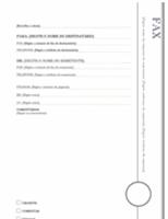 Folha de rosto para fax (design Balcão Envidraçado)