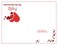 Cartão para o dia dos namorados (em branco por dentro)