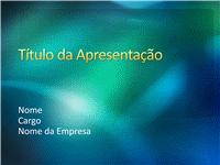 Amostra de slides de apresentação (Design com textura em verde)