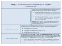 Guia de referência do Project Web Access para membros de equipes
