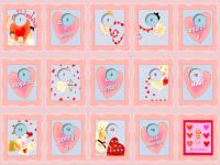 Calendário de contagem regressiva para o Dia dos Namorados