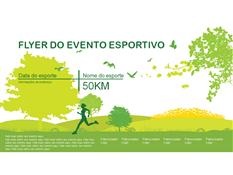 Folheto de Evento - Esportes