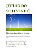 Flyer de evento