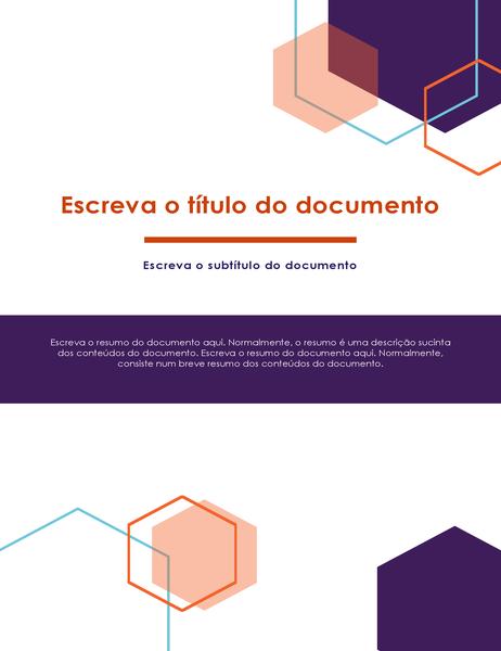 Relatório (design executivo)