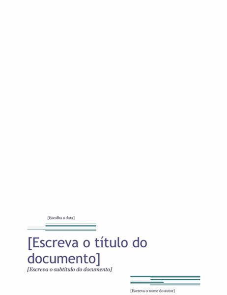 Relatório (tema Urbano)