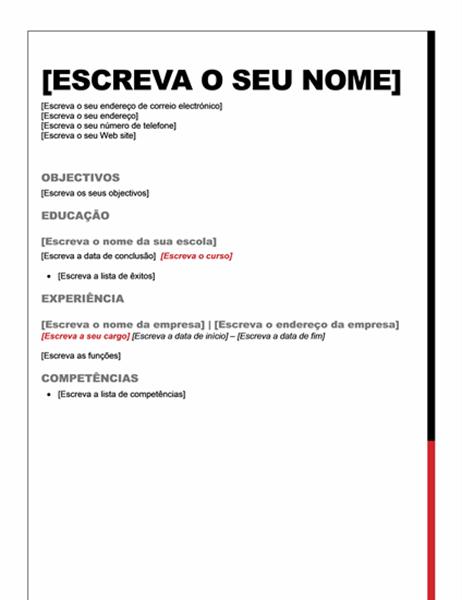 Currículo (Design Essencial)