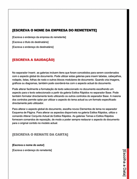 Carta (design Essencial)