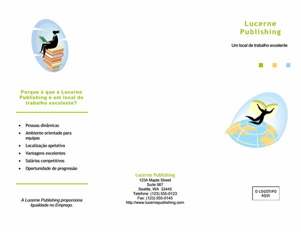 Brochura de recrutamento