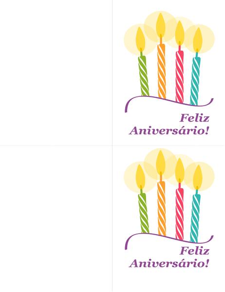 Cartões de aniversário