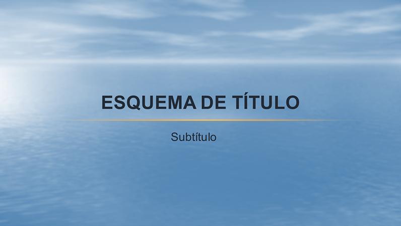 Modelo de design Oceano