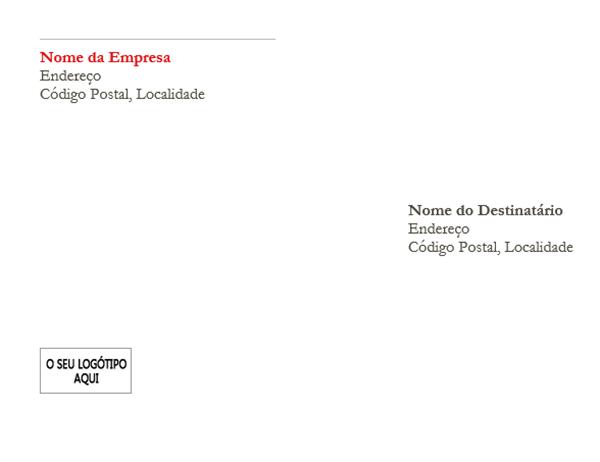 Envelope (design Vermelho)