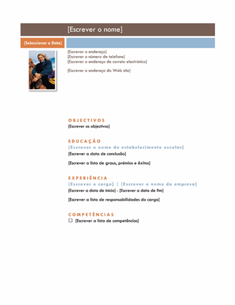 Currículo (design Mediano)
