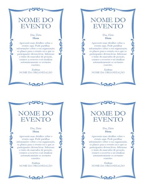 Panfleto do evento (4 superior)