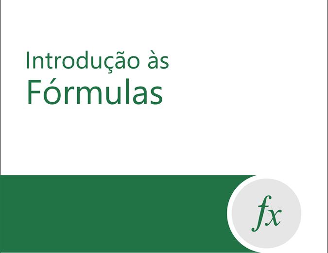 Tutorial de fórmula