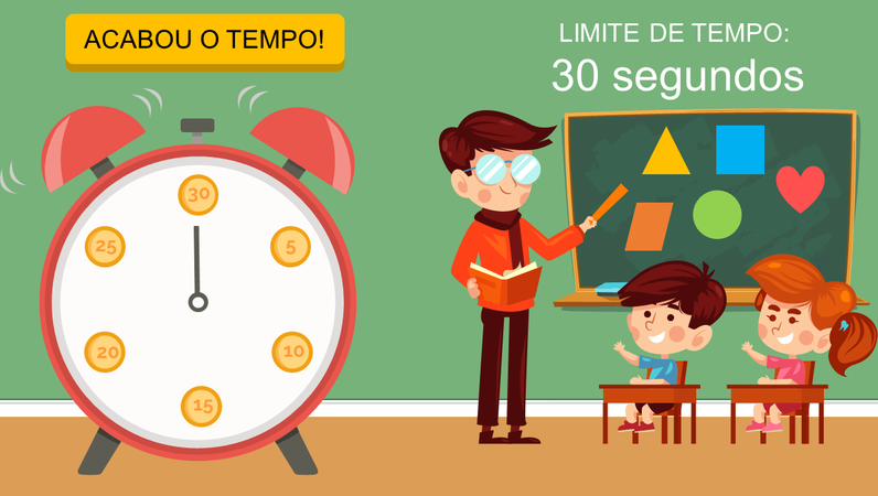 Temporizadores de sala de aula (relógio)
