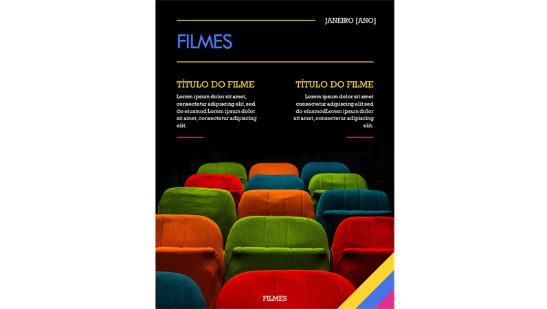 Capas de revista de cinema