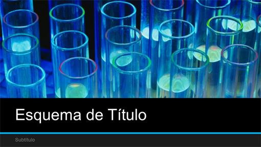Apresentação de ciência de laboratório (widescreen)