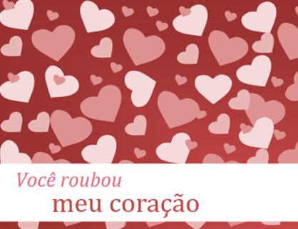 Cartão de Dia dos Namorados