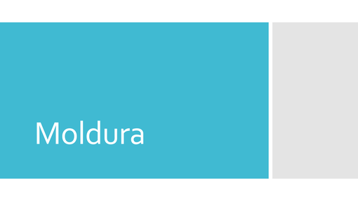 Moldura