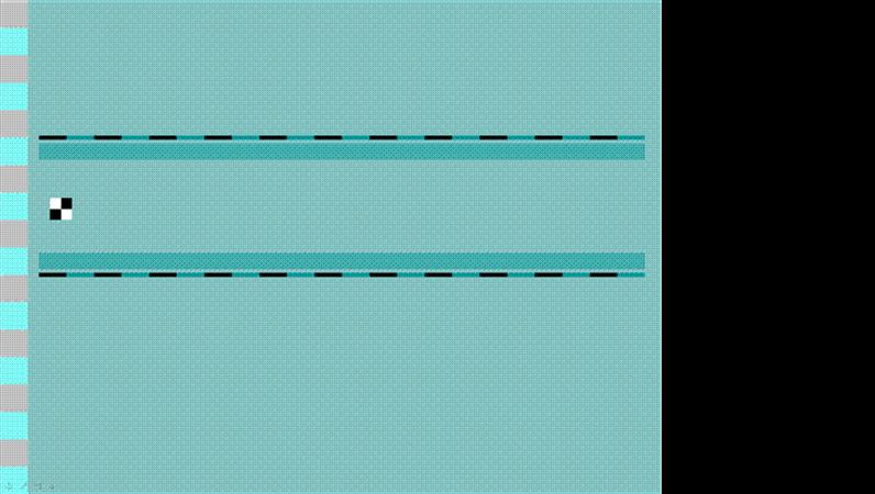 Modelo de apresentação Axadrezado