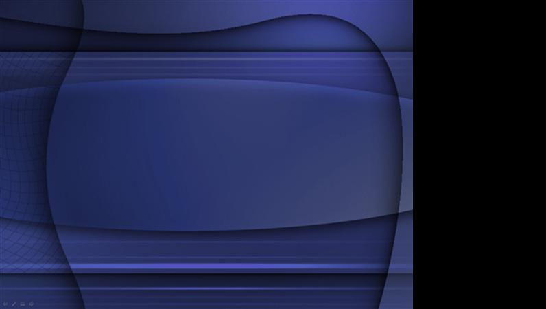 Modelo de apresentação Gel azul