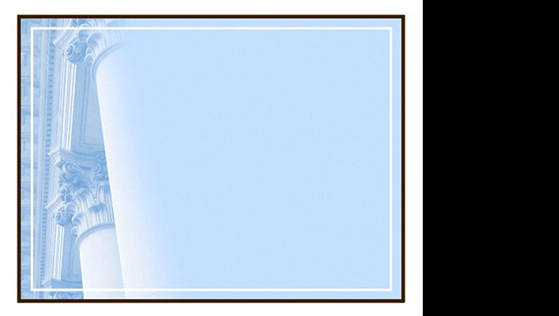 Modelo de design de colunas coríntias