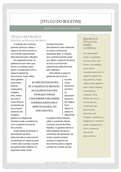 Newsletter (Design Boticário)