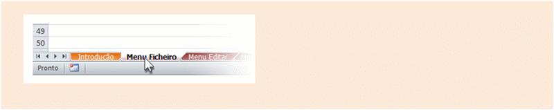 Publisher 2010: Livro de referência do menu para o friso