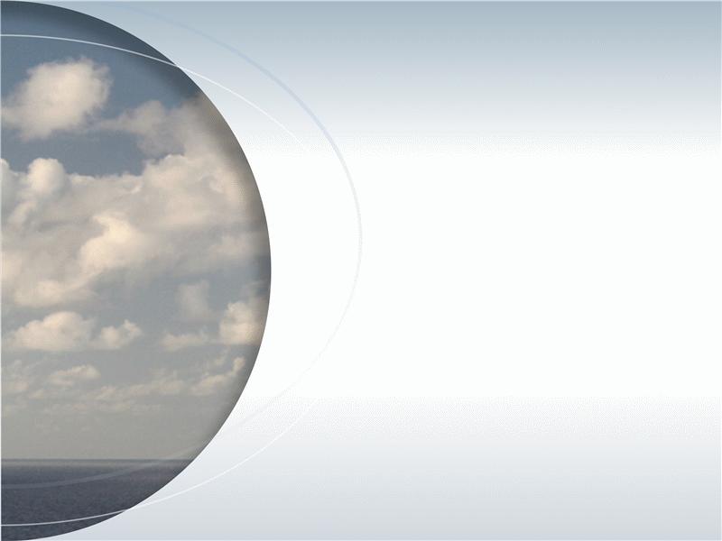 Imagem em semicírculo com arcos de destaque