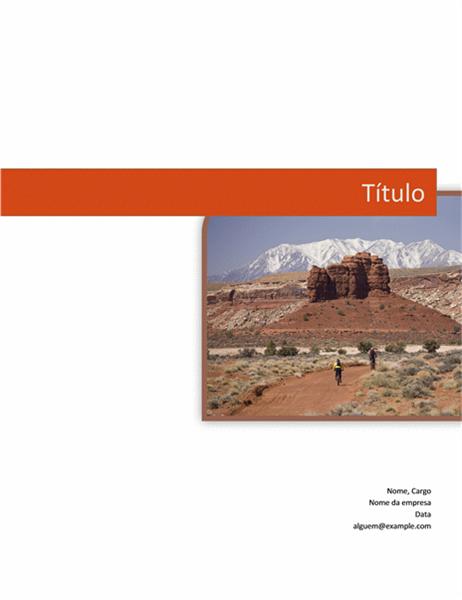Relatório comercial (design gráfico)