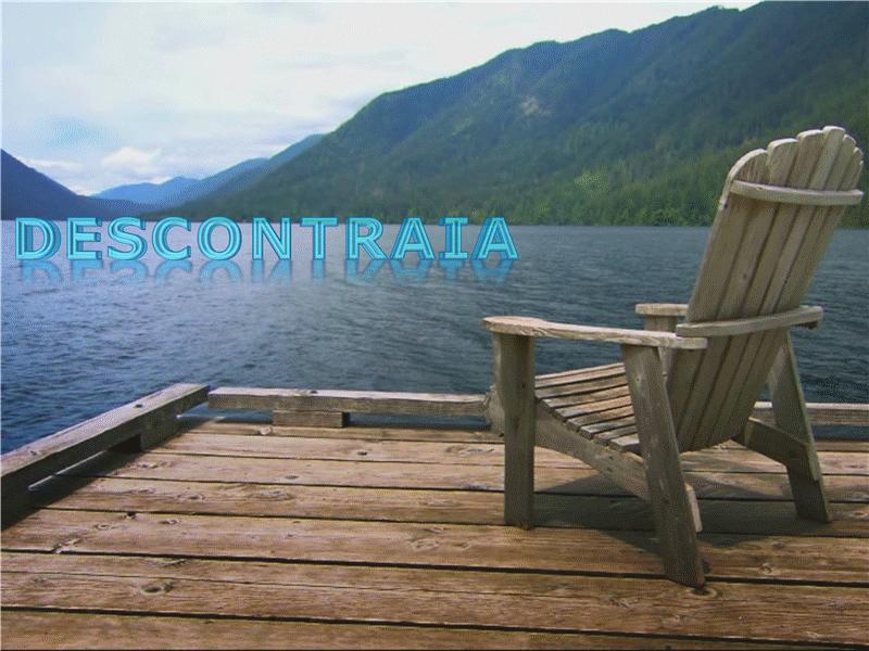 Descontração no lago (com vídeo)